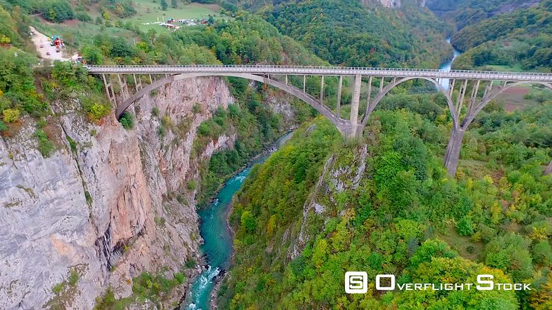 Bridge Over the Tara River, Montenegro