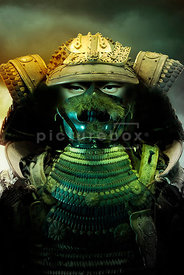 An atmospheric image of a Samurai Warrior.