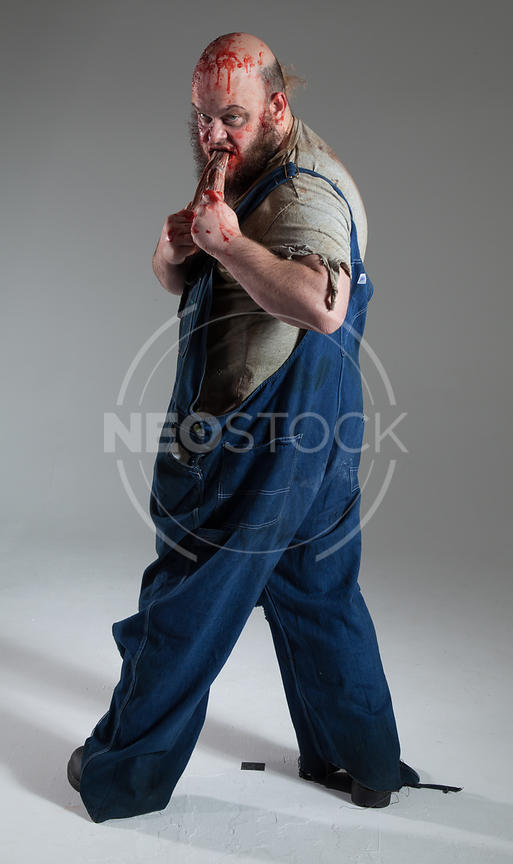 Zombie Characters Stock Photography