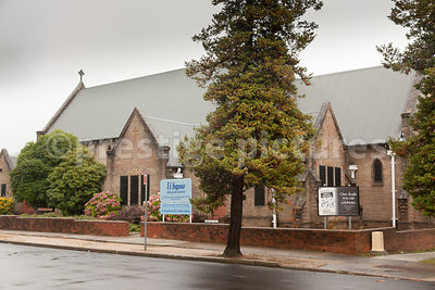 Lithgow Anglican Church in New South Wales Australia
