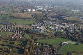 Bury aerial photograph of Pilsworth Industrial Estate  Pilsbury Road Hollins Pilsworth