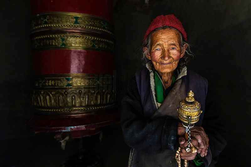 Portrait of a Ladakhi Woman