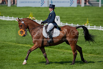 Sarah Wardell and Killeenduff Boy - Dressage.