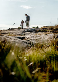 Danish father and daughter on Bornholm 7