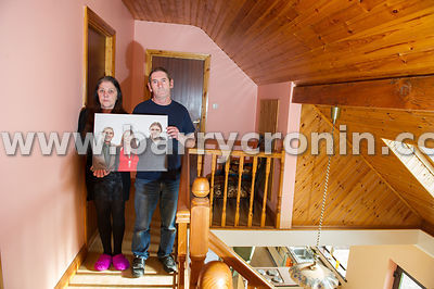 4th April, 2014. Helena and Gerry O'Connor photographed at their hiome in Kilmainhamwood, County Meath. Their son Gavin was o...