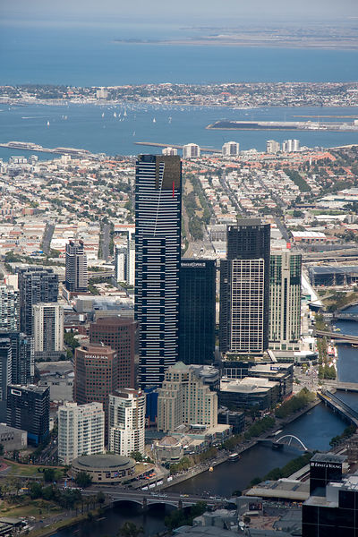 Aerial view of Melbourne No.2
