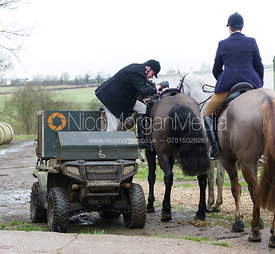 Nick Townsend - The Cottesmore Hunt at Northfield Farm 29/1/13