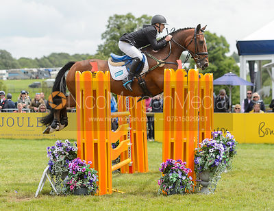 Ben Hobday and MULRYS ERROR - Bramham International Horse Trials, June 2017