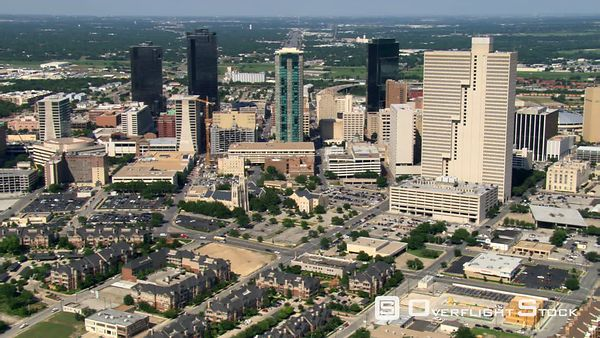 Downtown Ft. Worth, Texas.