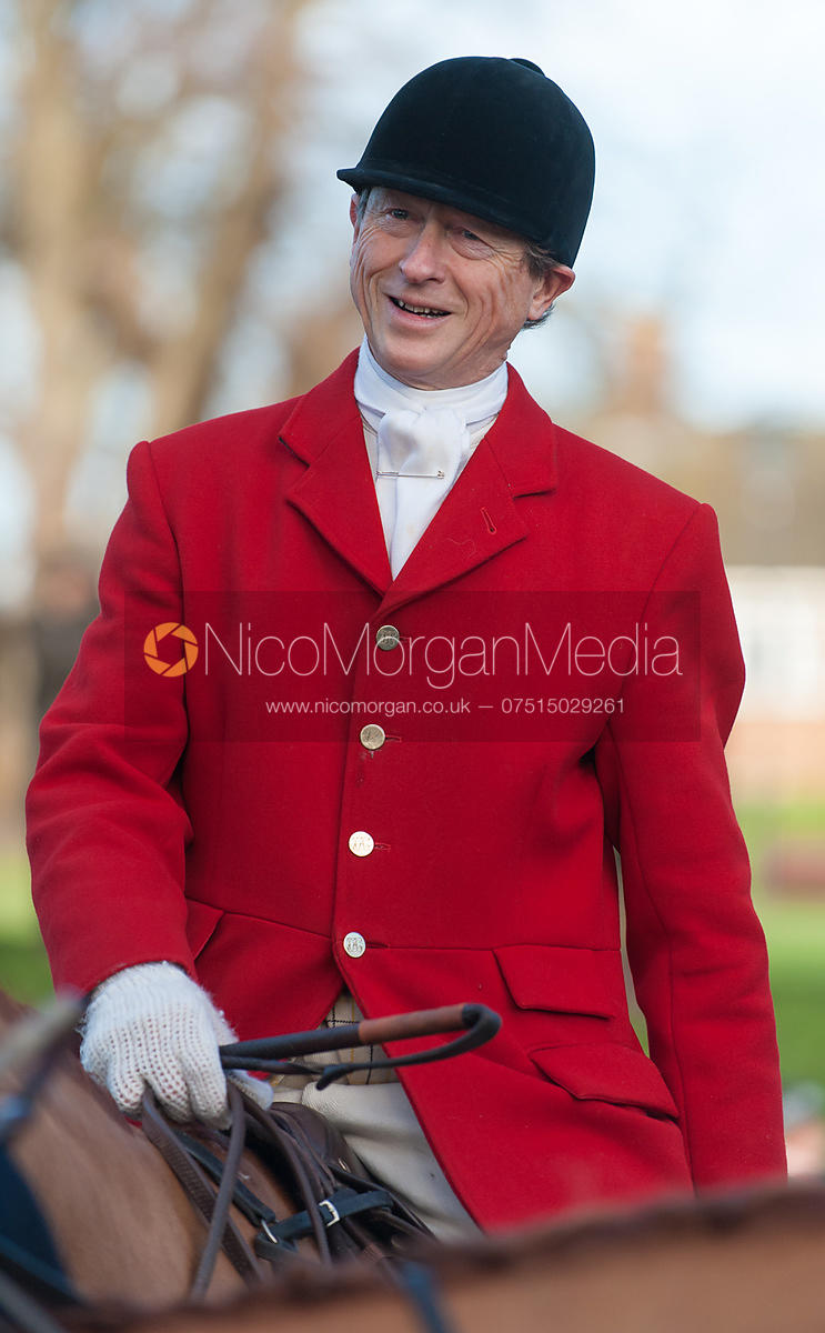 Nicholas Leeming MFH - The Cottesmore Hunt Boxing Day Meet, Cutts Close, Oakham 26/12