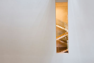 Escalier dans le bâtiment du MOMA, New York /Staircase in the MOMA building, New York