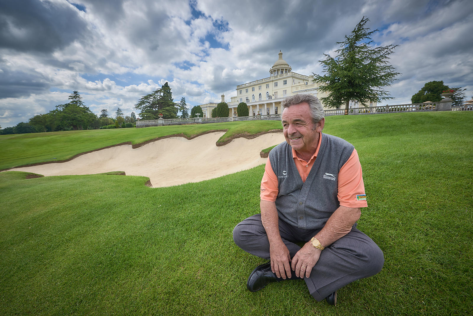 Tony Jacklin at Stoke Park Press day