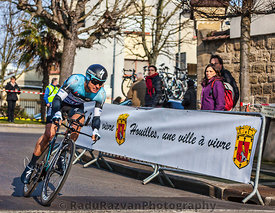 The Cyclist Gianni Meersman- Paris Nice 2013 Prologue in Houilles