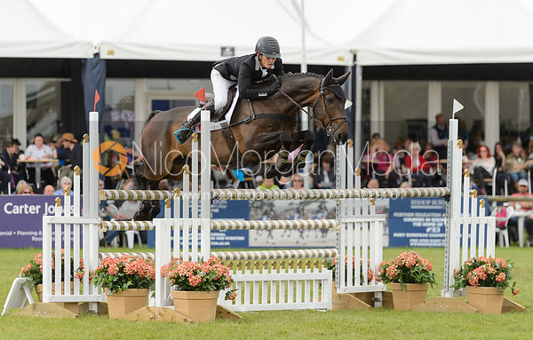 Aurelien Leroy and SEASHORE SPRING - Bramham International Horse Trials, June 2017