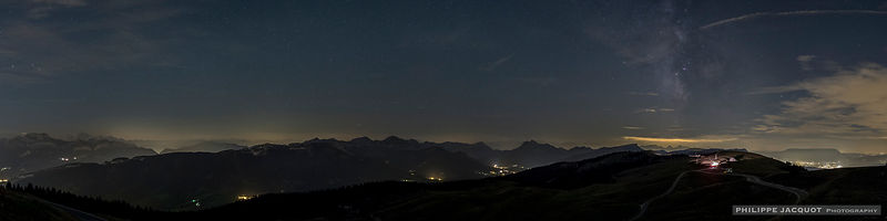Twilight (astronomical) - Annecy Semnoz