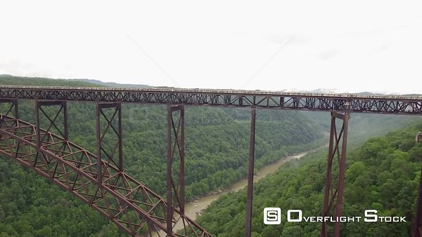 Drone Video New River Gorge Bridge West Virginia