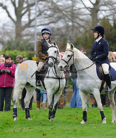 The Cottesmore Hunt on Boxing Day 2014.