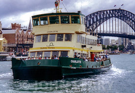 Sydney Harbour Ferry Charlotte.