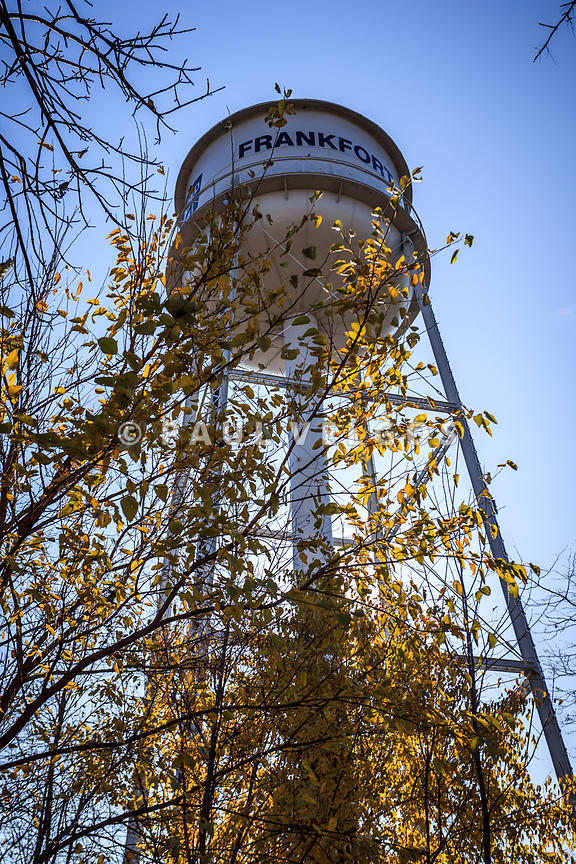 Frankfort Water Tower in Frankfort Illinois