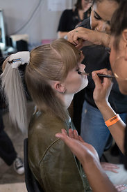 London Fashion Week Spring Summer 2019  - Wesley Harriott Backstage