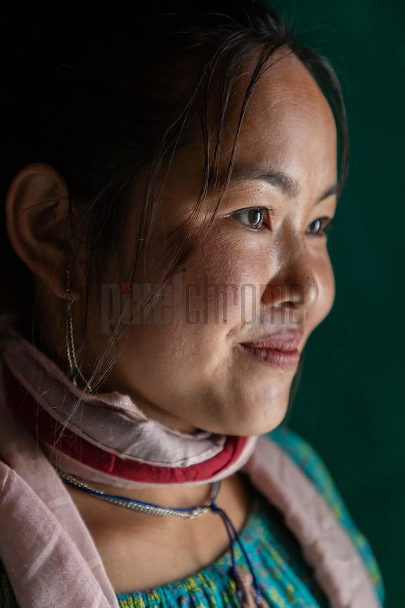 Portrait of a Sikkimese Woman