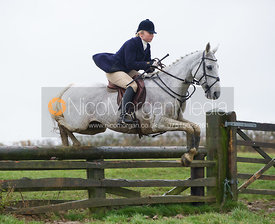 Phoebe Buckley jumping fences at Stone Lodge Farm - The Cottesmore at John O'Gaunt 24/11/12