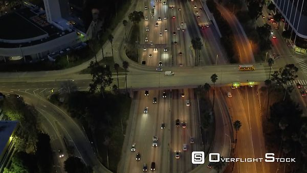 Downtown Los Angeles View of the Highway California