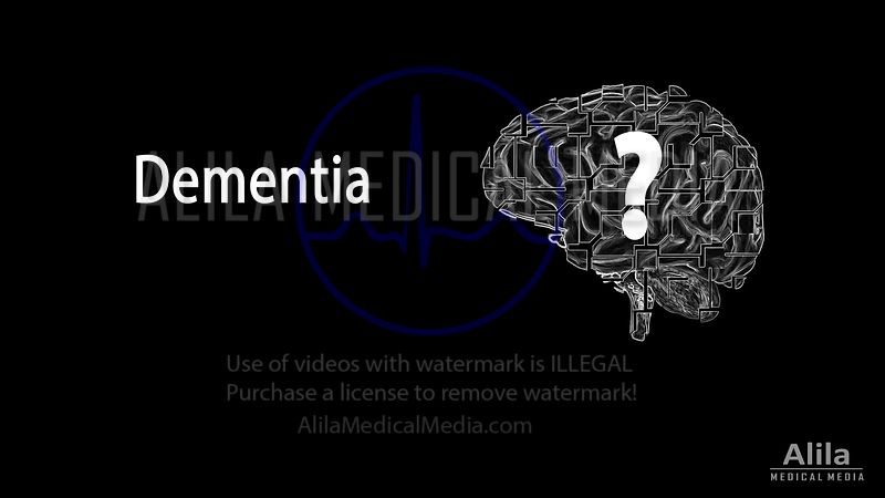 Dementia (types of) NARRATED animation