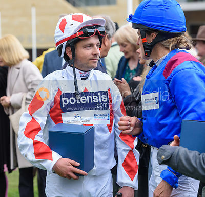 Ben Hobday - Presentation - Champions Willberry Charity Flat Race - Cheltenham Racecourse, April 20th 2017