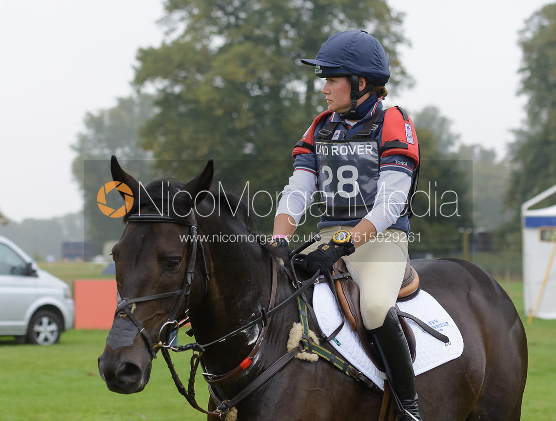 - cross country phase,  Land Rover Burghley Horse Trials, 6th September 2014.