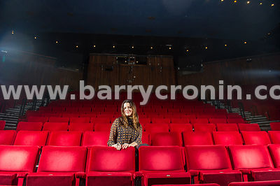15th December, 2014.Actress, model and former TV Presenter Caroline Morohan photographed at the Abbey Theatre, Dublin. Photo:...
