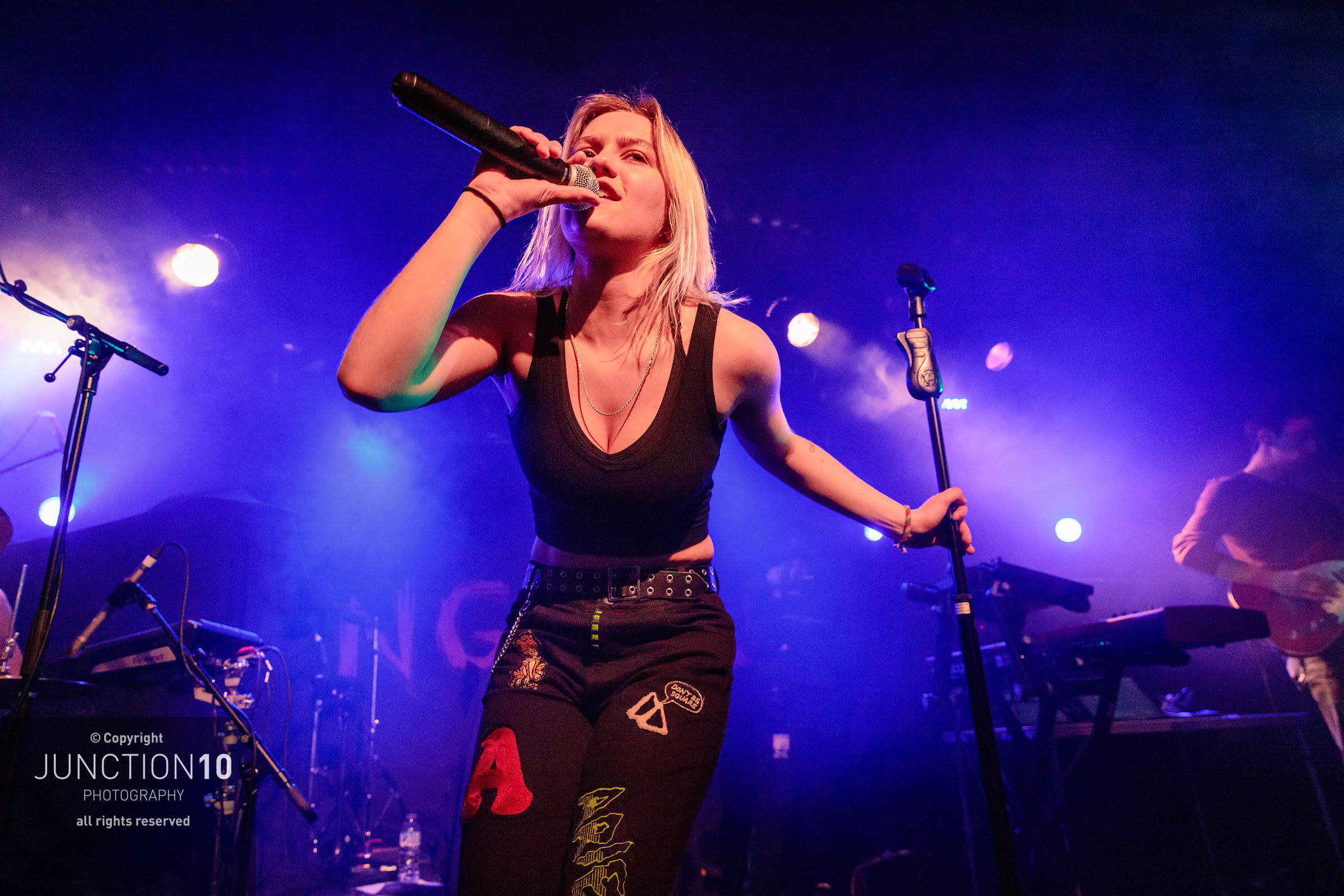 Carlie Hanson at the O2 Institute 2, Birmingham, United Kingdom - 12 Mar 2019