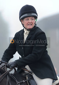 Caroline Harrison - Melton Hunt Club Ride 2014