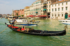 Gondola on the Grand canal 00
