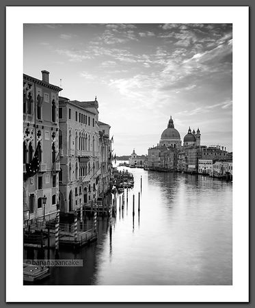 The Grand Canal at dawn, Venice, Italy - BP6640