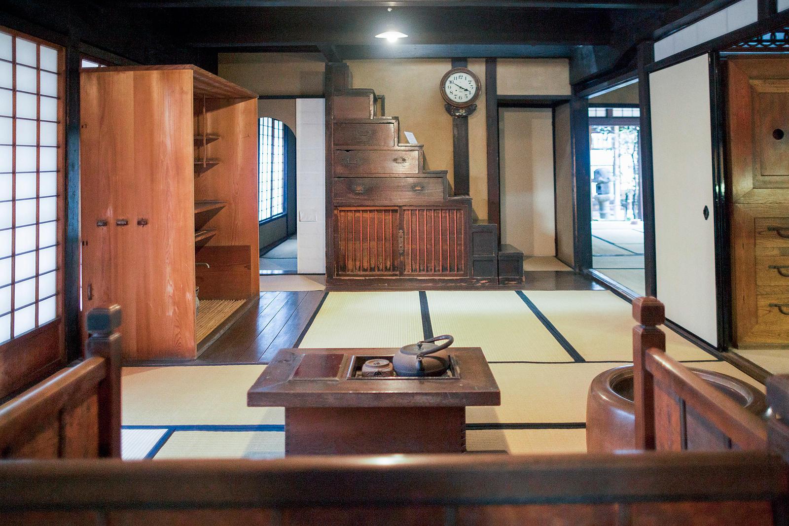 Interieur Maison Japonaise Traditionnelle antoine boureau | intérieur d'une maison japonaise