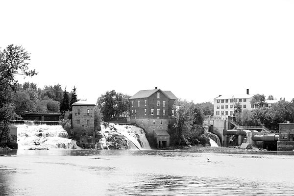 VERGENNES VERMONT BLACK AND WHITE