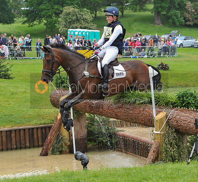 Danielle Dunn and ZOCARLA BLH - CCI***U25 - EquiTrek Bramham International Horse Trials 2016