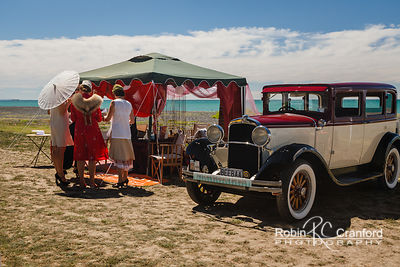 Art Deco Sunday 2014.  Gatsby Picnic.  License Plate BEEBAA