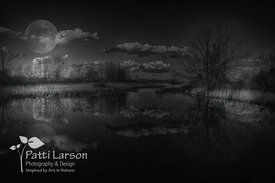 Full Moon Reflections