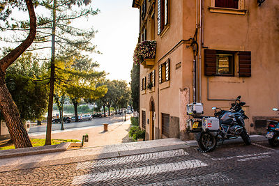 european motorcycle travel verona
