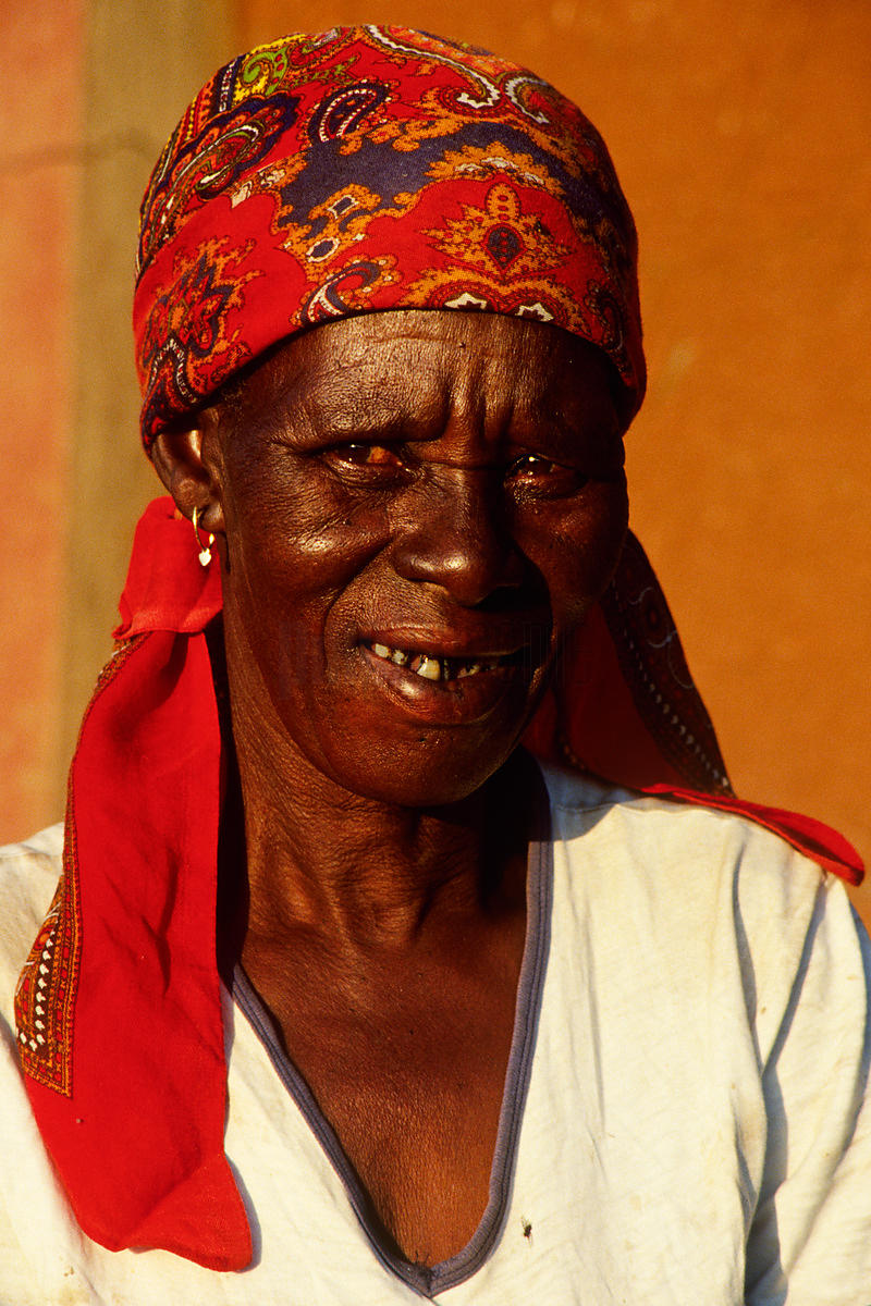 Portrait of an African Woman