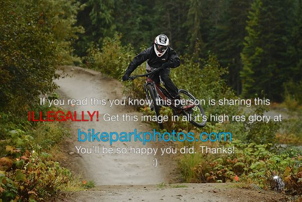 Sunday September 30th - ALine First Hit bike park photos