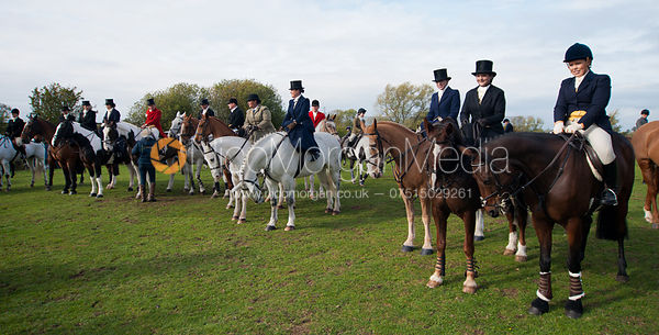 Some of the side saddle ladies