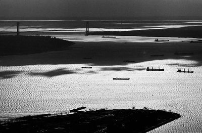 Verrazano Narrows from the World Trade Centre