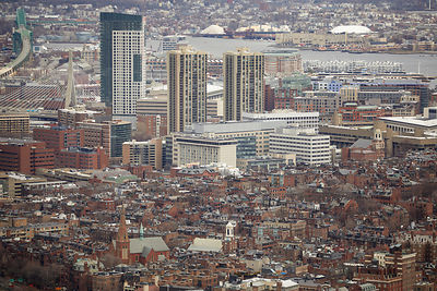 North end area of Boston
