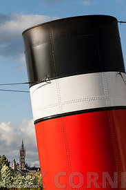 The Waverley Paddle Steamer detail.