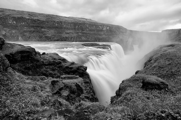 Gullfoss and Canyon