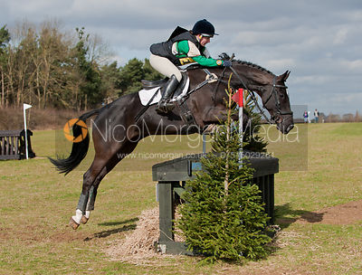 Alex Postolowsky and Fair Sail, Oasby Horse Trials