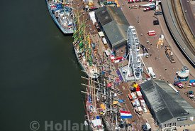 Harlingen - Luchtfoto Tall Ships Races 10